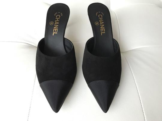 Chanel Black Mules Image 6