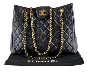 5134cc1f8d05 Chanel Shoulder Bag · Chanel. Shopping Timeless Cc Logo Chain Tote Black  Lambskin Leather ...