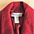 Karl Lagerfeld Couture Nubbywool Cranberry Jacket Image 4