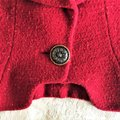 Karl Lagerfeld Couture Nubbywool Cranberry Jacket Image 5