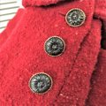 Karl Lagerfeld Couture Nubbywool Cranberry Jacket Image 6