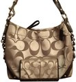 Coach Monogram Purse & Wallet Chains Brown Shoulder Bag Image 0