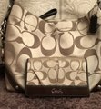 Coach Monogram Purse & Wallet Chains Brown Shoulder Bag Image 1