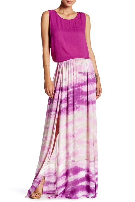 Preload https://img-static.tradesy.com/item/23509994/young-fabulous-and-broke-orchid-and-noel-m-maxi-skirt-size-8-m-29-30-0-0-650-650.jpg