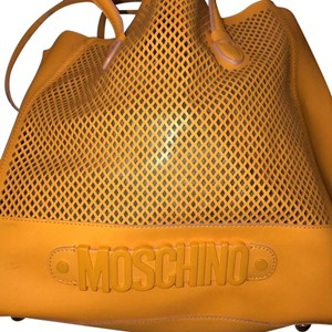 Moschino Satchel in yellow