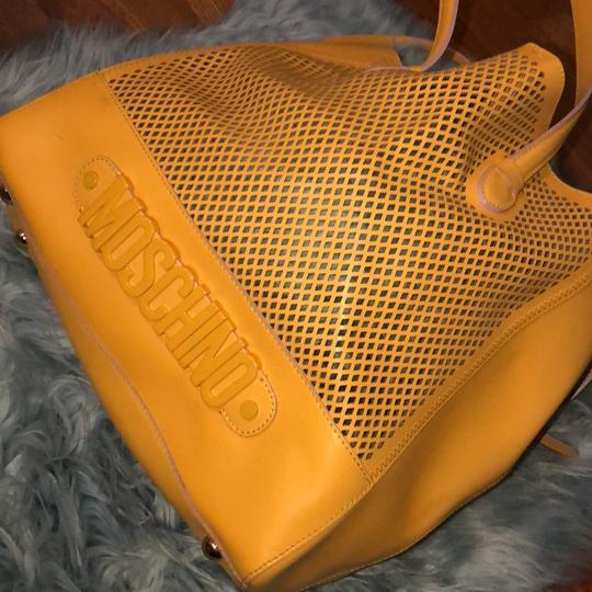 Moschino Satchel in yellow Image 1