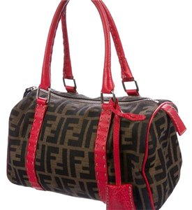 Fendi Satchel in Brown Red