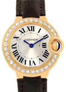 Cartier Cartier Ballon Bleu Yellow Gold Diamond Ladies Watch WE900151 Unworn