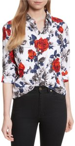 Equipment Floral Top