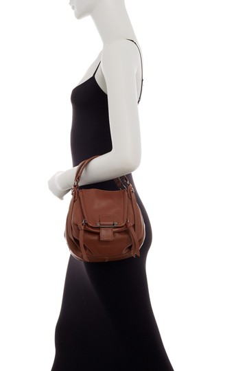 Kooba Lambskin Leather Boho Mini Cross Body Bag Image 1