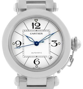 Cartier Cartier Pasha C 35mm White Dial Stainless Steel Unisex Watch W31074M7