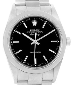 Rolex Rolex Oyster Perpetual Air King Smooth Bezel Steel Mens Watch 14000