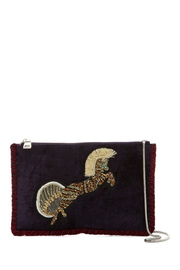 Preload https://img-static.tradesy.com/item/23511019/steve-madden-new-pegasus-deep-purple-velvet-clutch-0-0-540-540.jpg