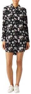 Equipment Silk Floral Casual Classic Summer Dress