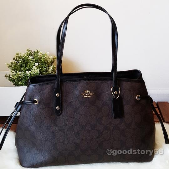 Coach Tote in Brown/Black Image 1