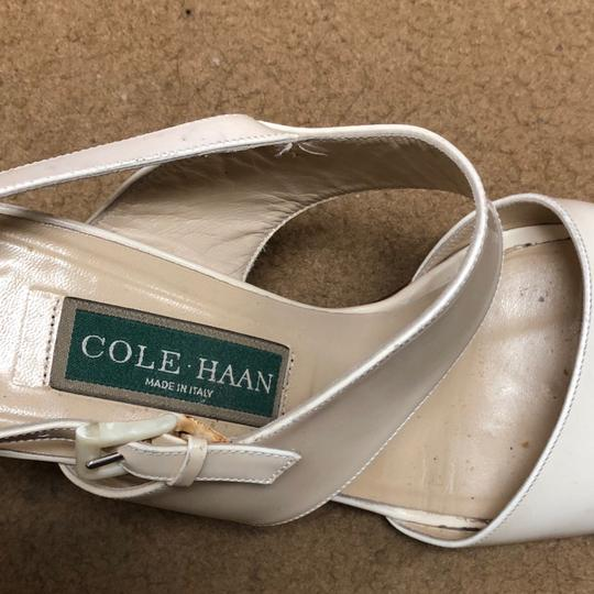 Cole Haan Antique Collectible Leather off white Sandals Image 1