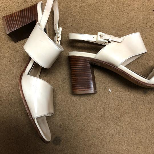 Cole Haan Antique Collectible Leather off white Sandals Image 2