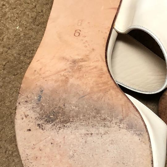 Cole Haan Antique Collectible Leather off white Sandals Image 3