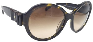 Chanel Tortoise Oval Round Bow Charm 5283 714/S5 Sunglasses
