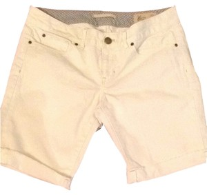 Gap Shorts White Denim