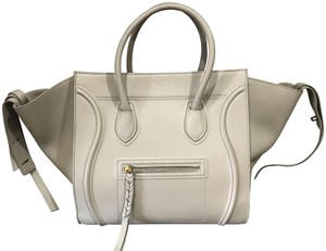 Céline Phantom Luggage Tote in Grey