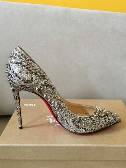 Christian Louboutin Heels Spike Red Bottom Multicolor Pumps