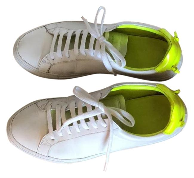 Item - White Embellished with Yellow Accents Urban Street Low-top #644149 Sneakers Size EU 39 (Approx. US 9) Regular (M, B)