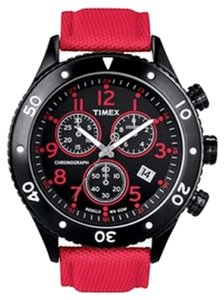 Timex Timex Male Dress Watch T2N087 Red Analog