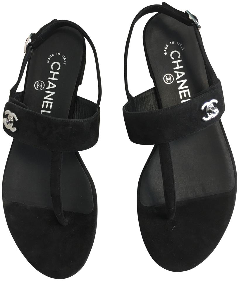 6aafde0ec916 Chanel CC Pool Slides Brand new in box Chanel CC t