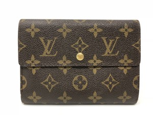 Louis Vuitton Louis Vuitton Monogram Tri-Fold Wallet
