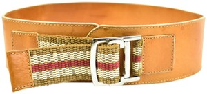 """Burberry Red/White Strap, Belt (fits 28"""" to 33"""")"""