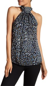 Ramy Brook Blue / Multi Halter Top
