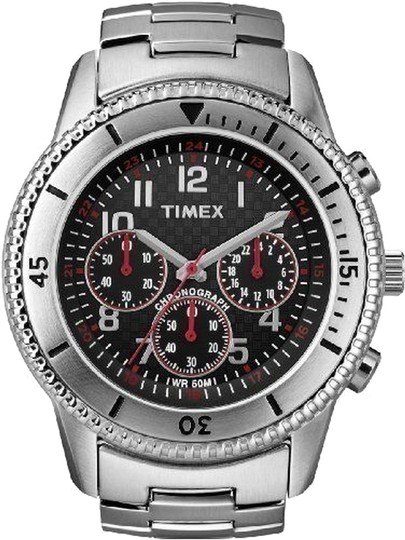 Timex Timex Male Dress Watch T2N159 Silver Analog