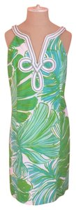 Lilly Pulitzer short dress Green, Blue and White on Tradesy