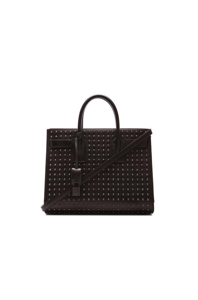 49ad9f8c1555 Saint Laurent Ysl Sac De Jour Ysl Handbags Studded Handbags Shoulder Bag  Image 0 ...
