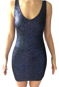 Aqua Dresses Sequin Bloomingdales Prom Dress