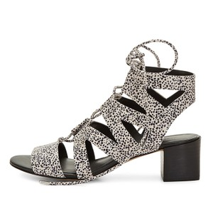 Rebecca Minkoff Black/White Sandals