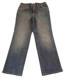 Talbots Boot Cut Jeans-Distressed
