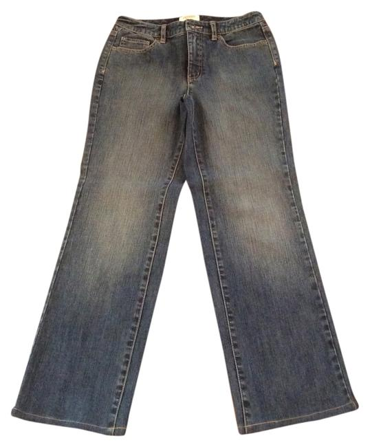 Talbots Boot Cut Jeans-Distressed Image 0