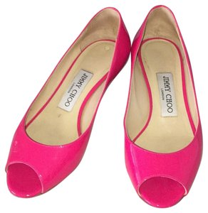 Jimmy Choo Fuchsia Wedges