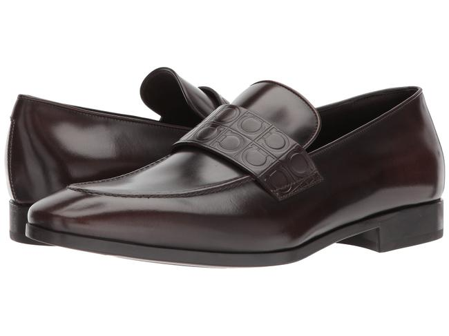 Item - Fondente Columbus Mens Leather Loafers E Formal Shoes Size US 12 Wide (C, D)
