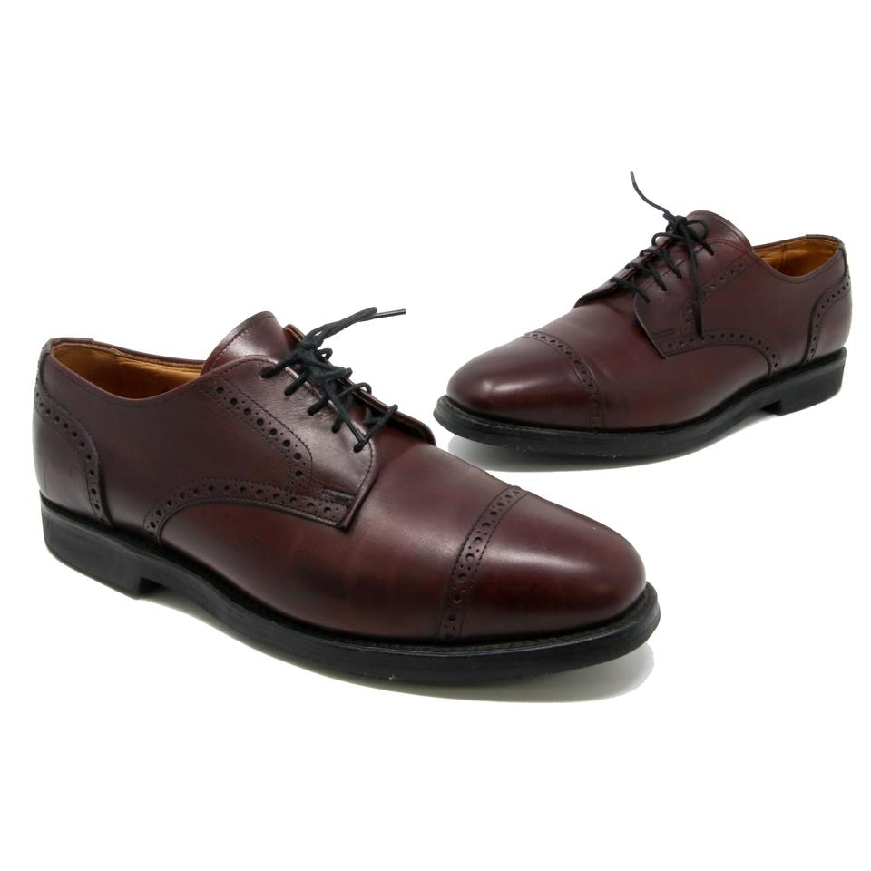 Allen Edmonds Oxblood Red Men's Benton Derby Cap Toe Oxfords Comfort Orthotic Vibram Sole Formal Shoes Size US 9.5 Wide (C, D) 76% off retail