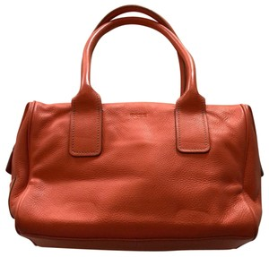 BREE Satchel in coral