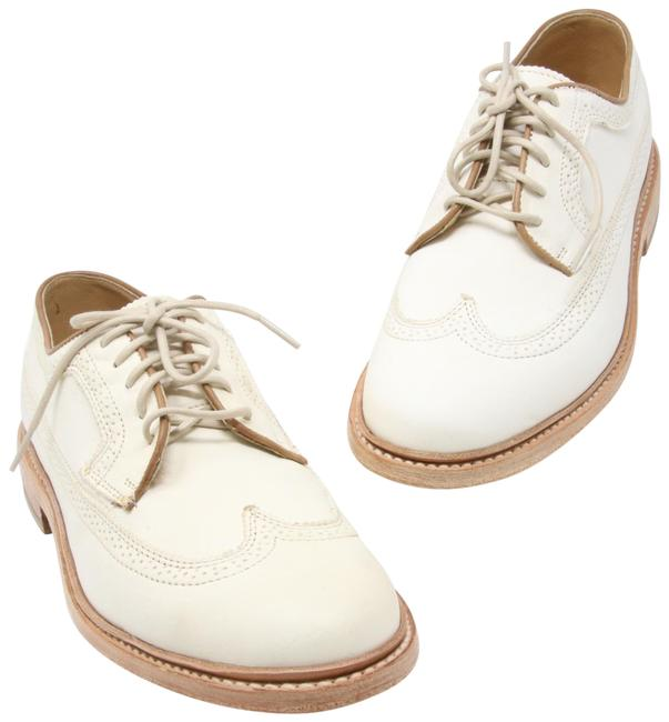 Item - Off White Men's James Wingtip Antiqued /Polished Leather Dress John A Formal Shoes Size US 8 Regular (M, B)