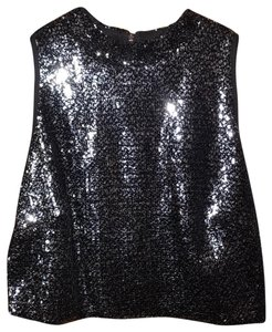 Forever 21 Top Black & Silver