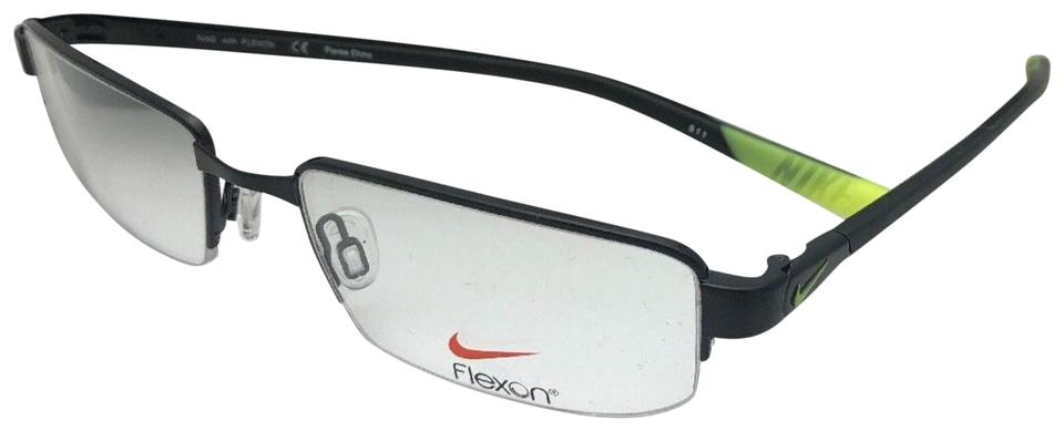 45d26442c5 Nike New NIKE Eyeglasses 4275 003 53-18 140 Semi Rimless Black   Yellow  Image ...