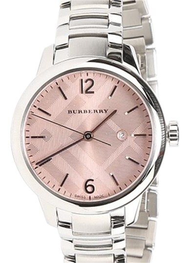 Preload https://img-static.tradesy.com/item/23514925/burberry-silver-pink-stainless-steel-with-dial-women-s-bu10111-watch-0-2-540-540.jpg