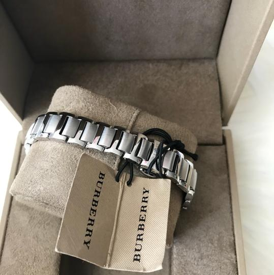 Burberry $800 NWT Stainless Steel with Pink Dial women's Watch BU10111 Image 7