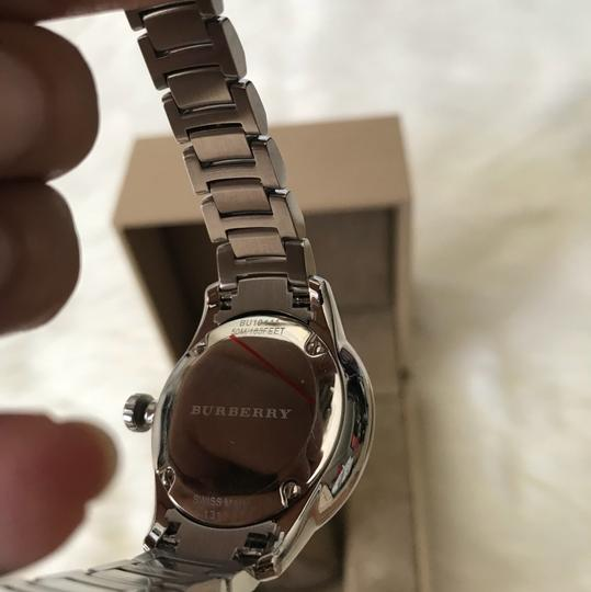 Burberry $800 NWT Stainless Steel with Pink Dial women's Watch BU10111 Image 9