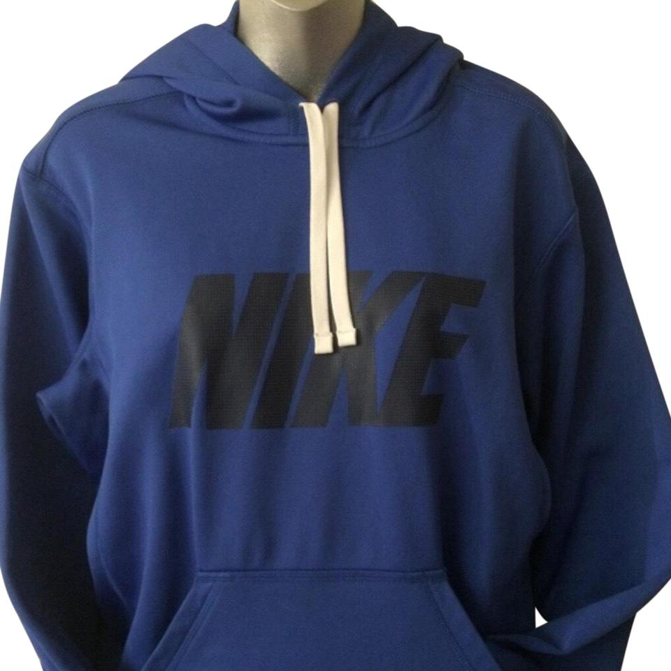 6be426497694 Nike Royal Blue Therma-fit Performance Training Activewear Outerwear ...